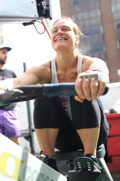 Will you be having as much fun as Di in todays WoD?? Pic: Angela Clancy