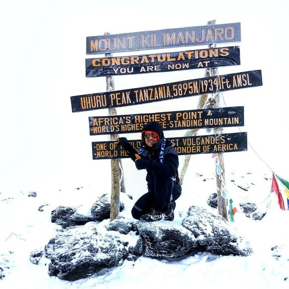 Way to go Bruno for reaching the pea of Mount Kilimanjaro!! . What a fantastic way to use the Fitness!!