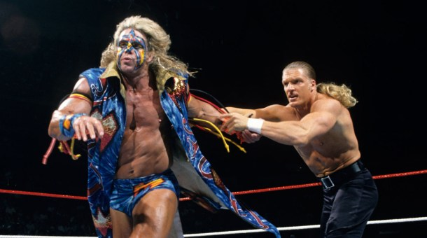 "Ultimate Warrior and ""Paul"" from his 1996 WWF Run"