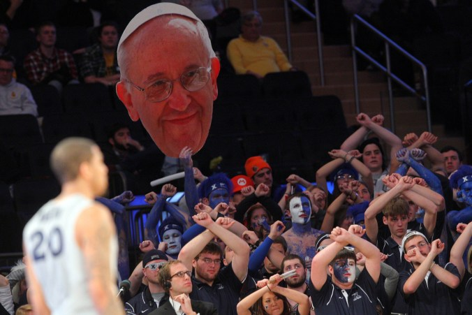 "The only result when you search ""Pope"" Photo Credit: Brad Penner-USA TODAY Sports"