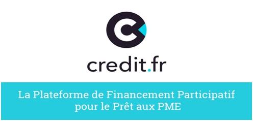 Crédit.fr plateforme 20€ bonus offerts code parrain: P10073