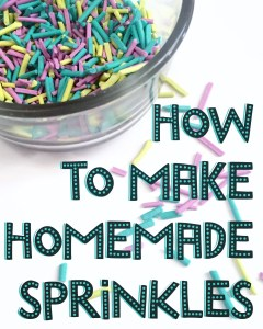 How To Make Homemade Sprinkles