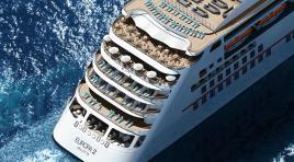 Grupo TUI compra o navio de luxo Europa 2