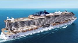 MSC Seaside: Começou a construção do mais inovador e revolucionário navio da MSC Cruzeiros (com fotos)