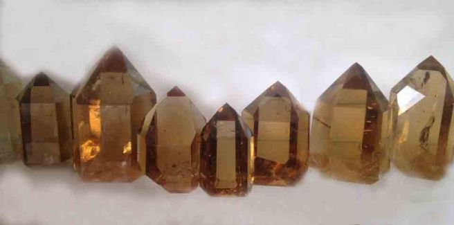 Crystals smoky quartz