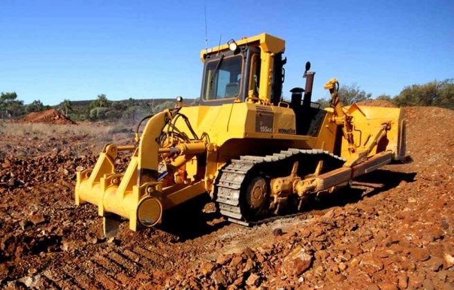 Mining Mookaite in Western Australia at Mooka Springs
