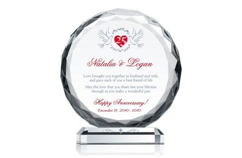 Medium Of 25th Anniversary Gifts