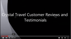 Crystal Travel Customer Testimonial