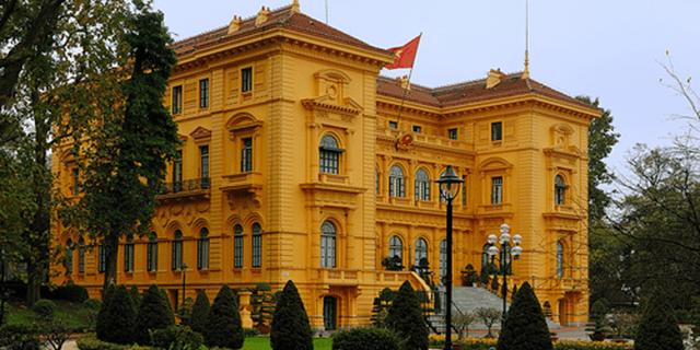 Presidential Palace Viet Nam