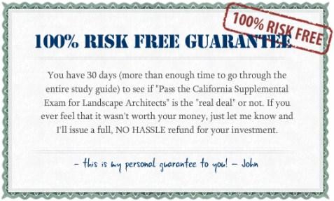 Risk-Free Guarantee