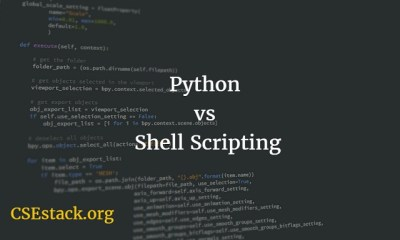Should I learn Python or Shell Scripting | Difference Between Two?