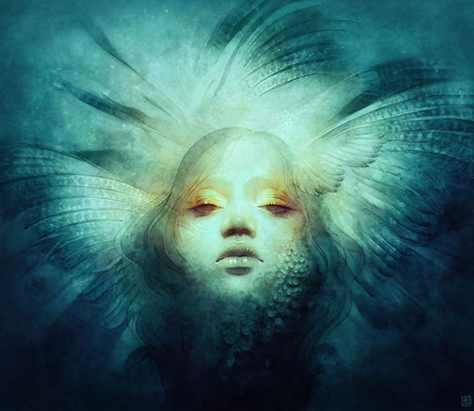 Illustrate a Dramatic Feather-Infused Portrait in Adobe Photoshop