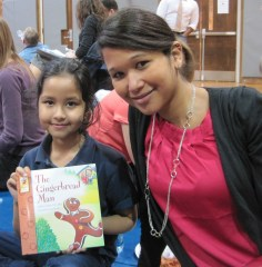 Sequoia's Reading Buddy enjoys silly stories and fables.