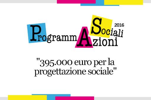AVVISO PUBBLICO: PROGRAMMAZIONI SOCIALI 2016