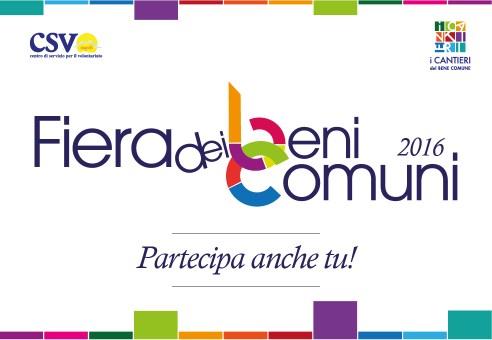 La Fiera dei Beni Comuni torna a Novembre. Partecipa con la tua associazione!