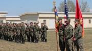 Militarii americani la Black Sea Rotational Force, Kogalniceanu. FOTO forter.ro