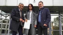 Robert Turcescu, Magda Bistriceanu și Sorin Coadă. FOTO Facebook