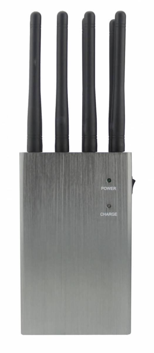 Disturbatore Jammer cellulari 8 bande tascabile GSM DCS 3G 4G LTE WiFi GPS LoJack