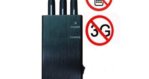 Disturbatore Jammer cellulari Inibitore-Jammer portatile Wifi, GSM, GPS L1, 3G