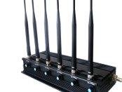 isturbatore Jammer cellulari, 3G, 4G, WiMax 15w portata 40mt, 15watt