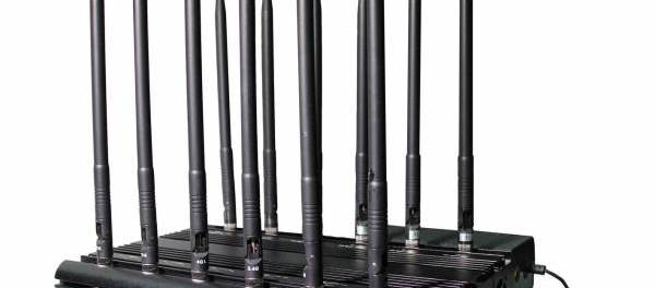 Disturbatore Jammer cellulari Jammer professionale per tutti i cellulari, GPS e VHF UHF a 12 bande 33W