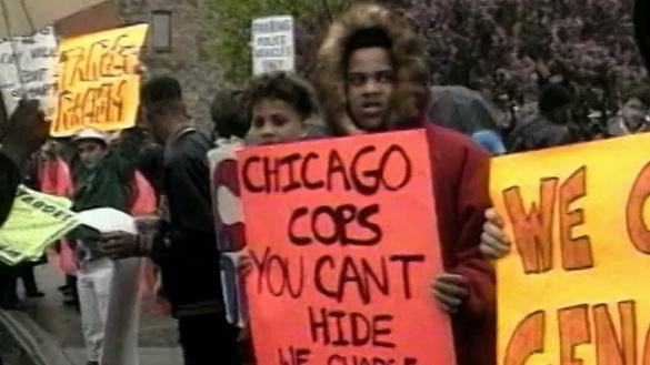 Police Violence Protesters