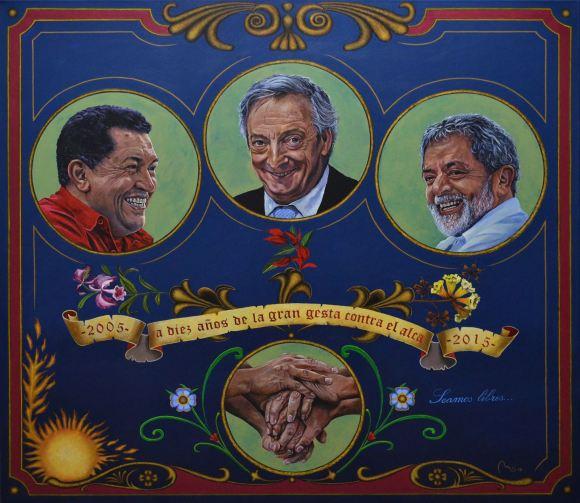 Carlos Medina_Lula Chavez Kirchner
