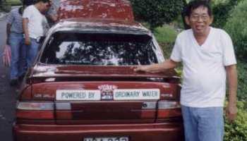 El coche de agua de Daniel Dingel