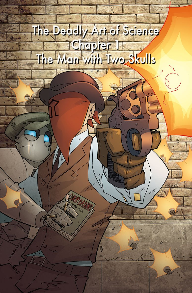 Atomic Robo Deadly art of Science