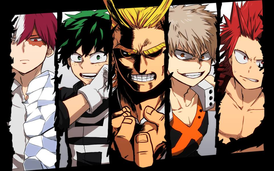 Boku No Hero Academia Heroes