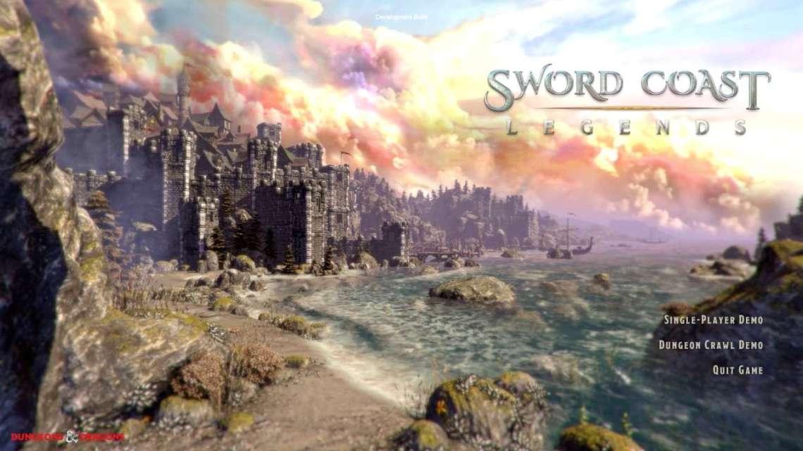 Sword Coast Legends Start