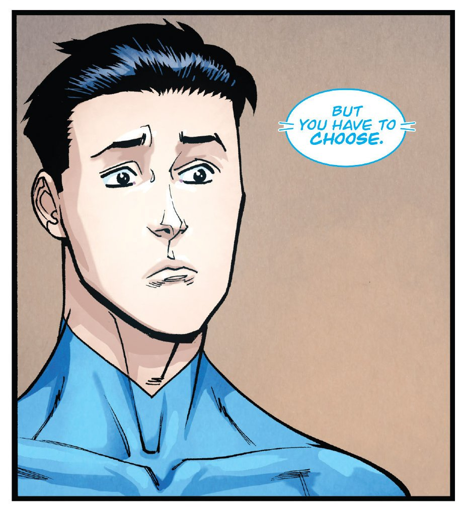Invincible 126 You have to choose