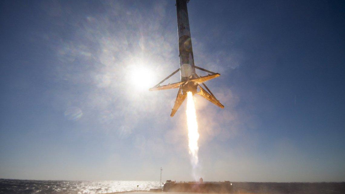 Space X Landing