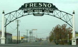 Ciudad de Fresno en California