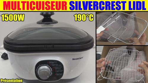 lidl multicuiseur silvercrest SMUK 1500 accessoires test avis prix notice et caractéristiques