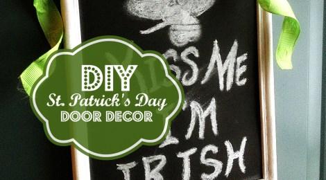 DIY St. Patrick's Day Door Decor