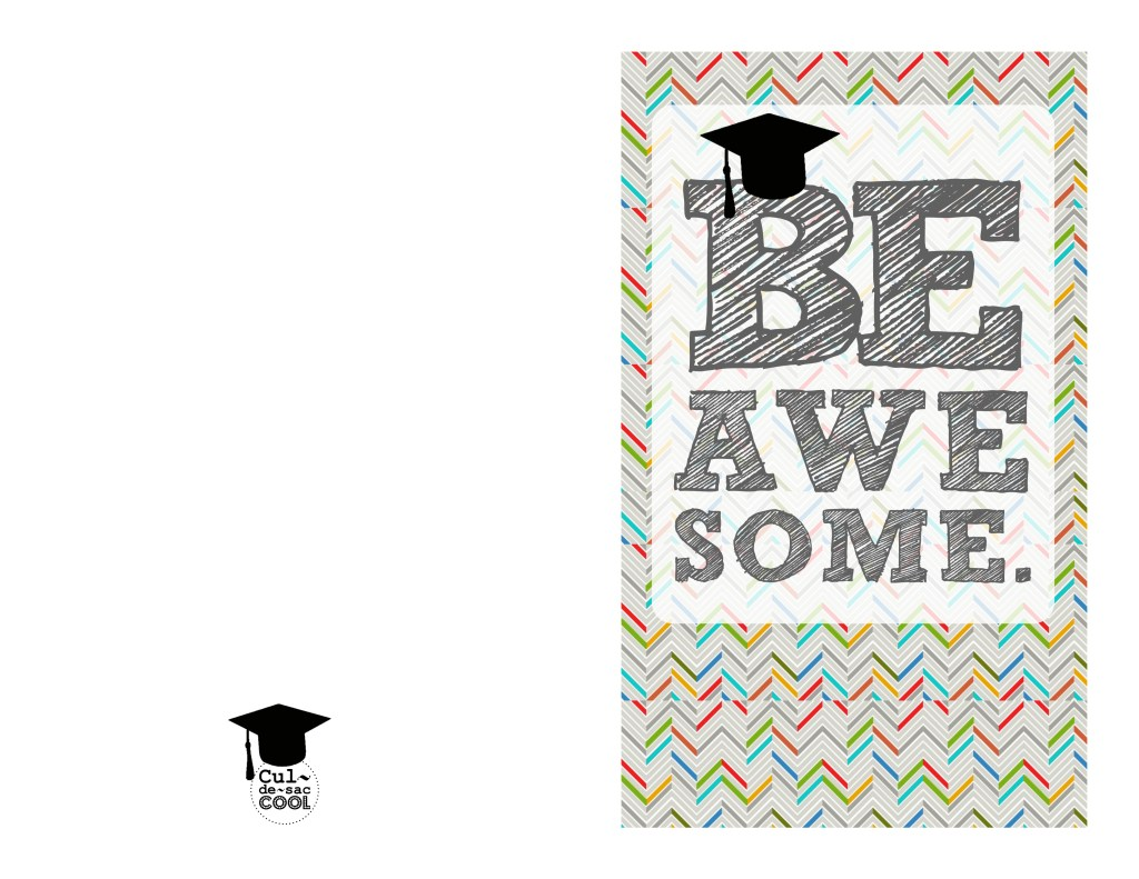 graduation card 2013 be awesome