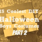 15 Coolest DIY Halloween Boys Costumes – Part 2