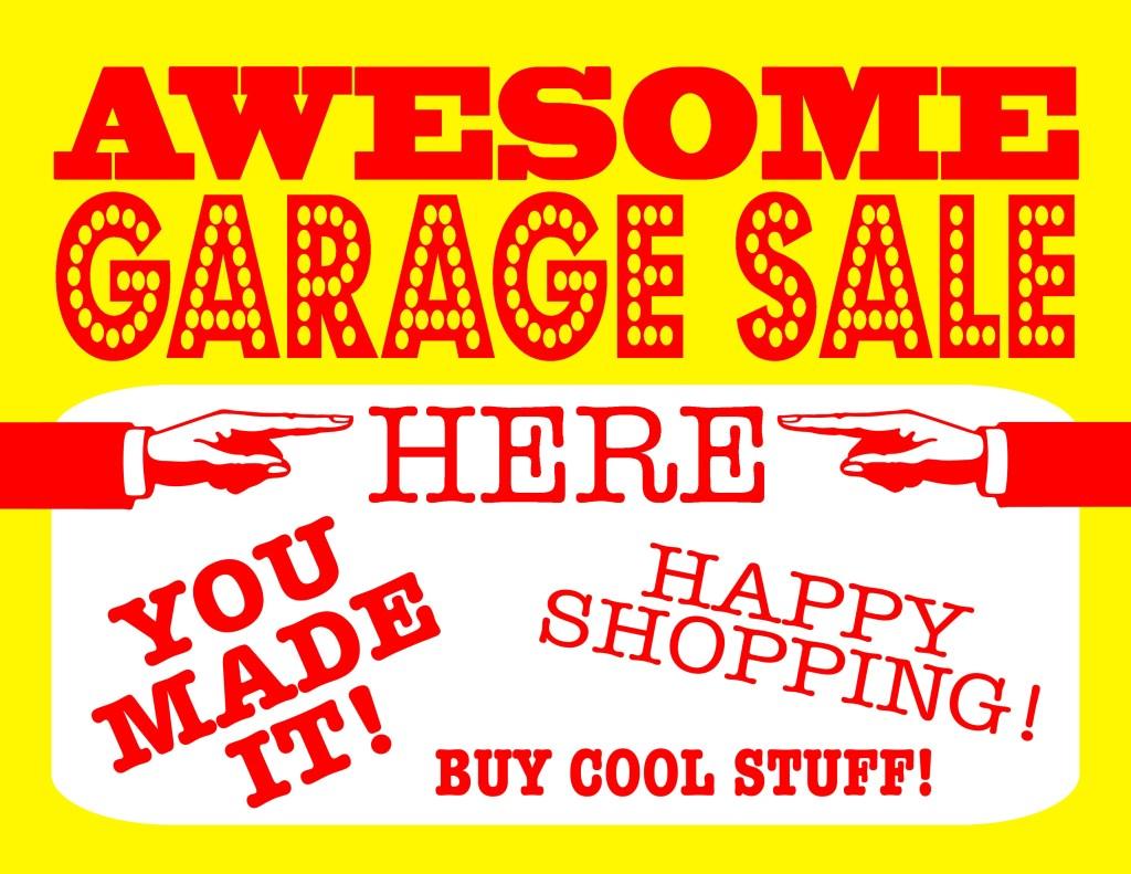 garage sale 5