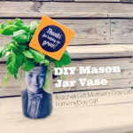 DIY Mason Jar Vase Teacher Gift, Mother's Day Gift or Father's Day Gift