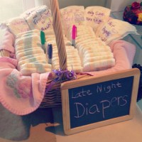 Late Night Diapers Baby Shower Game