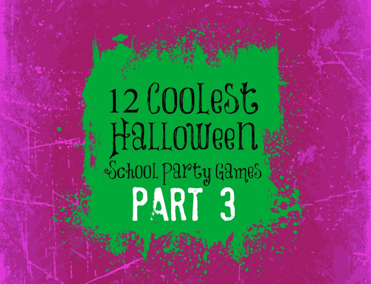 12 Coolest Halloween School Party Games -- Part 3