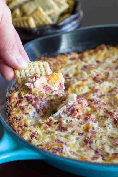 Hot Reuben Dip Recipe | Culinary Hill