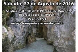 Senderismo por el Río Chíllar (Nerja)