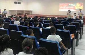 UFMA promove encontro de cinema com estudantes de Pinheiro.