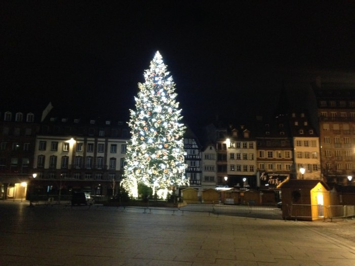 Strasbourg, Great Christmas Tree on Kléber Square