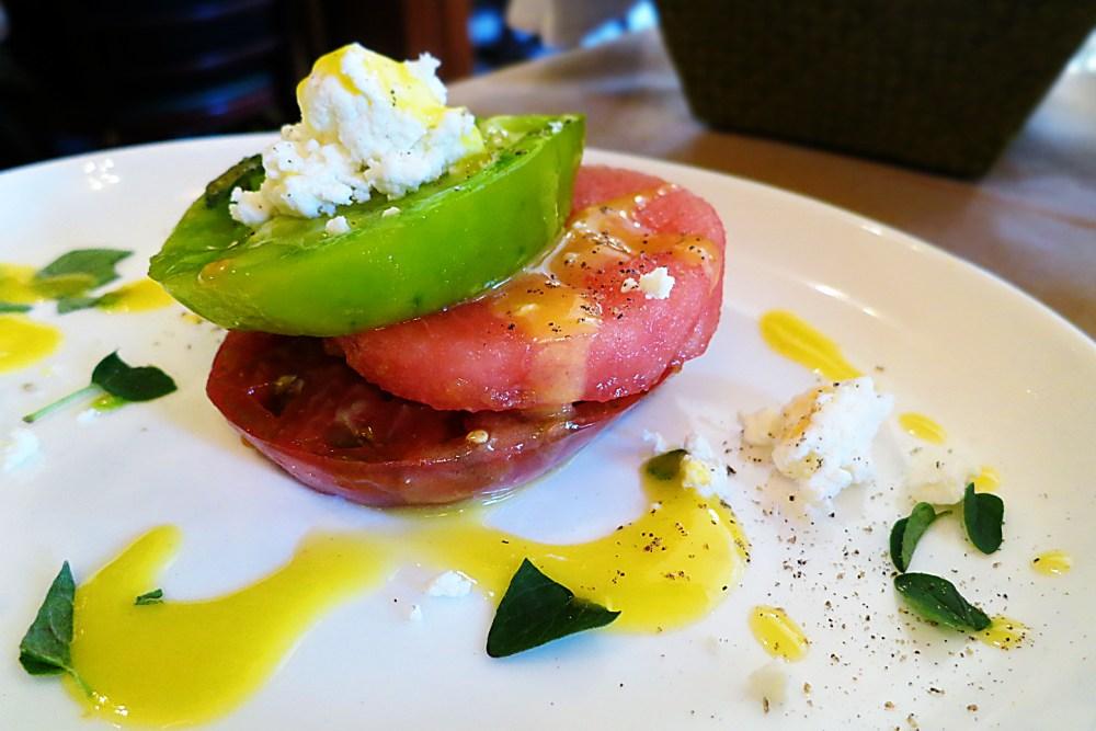 The Girl & The Fig - Heirloom Tomato Salad