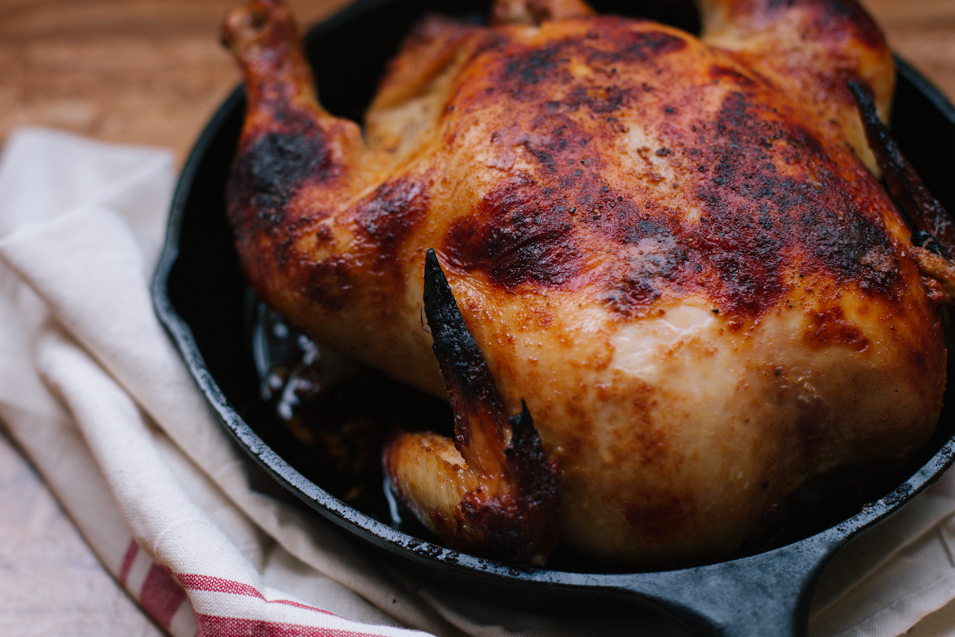 RECIPE // BUTTERMILK ROAST CHICKEN
