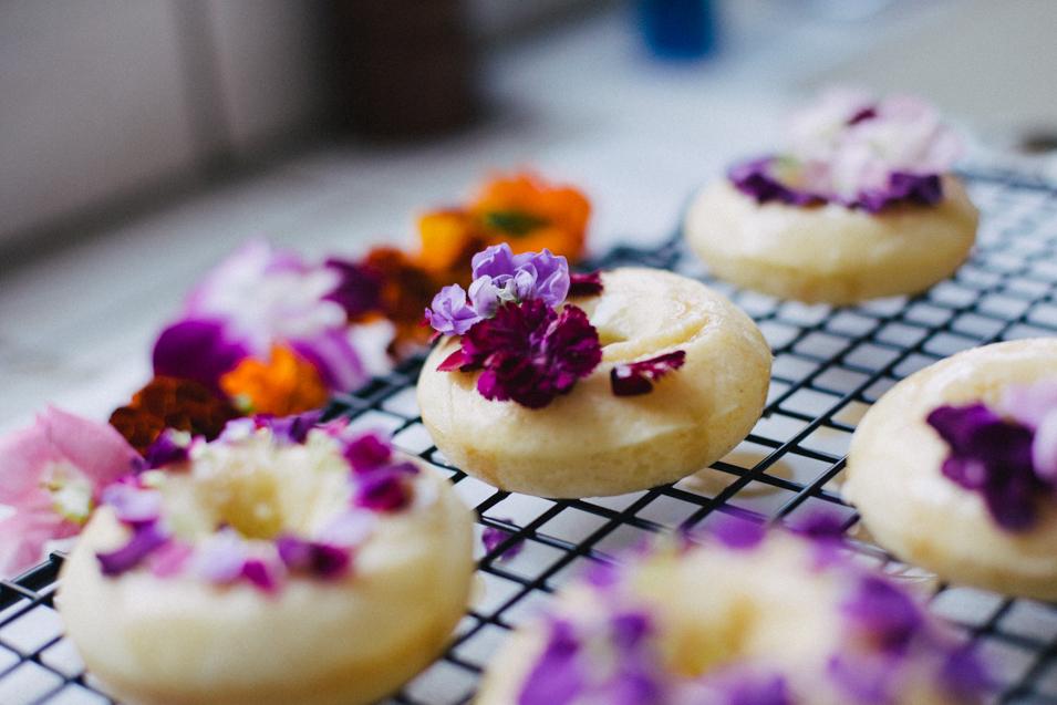 Floral Churro Donuts | Cultural Chromatics-20