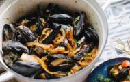 Tomato Chorizo Mussels | Cultural Chromatics-7